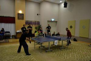 Pertandingan Ping Pong Masjid Tuanku Mizan Zainal Abidin