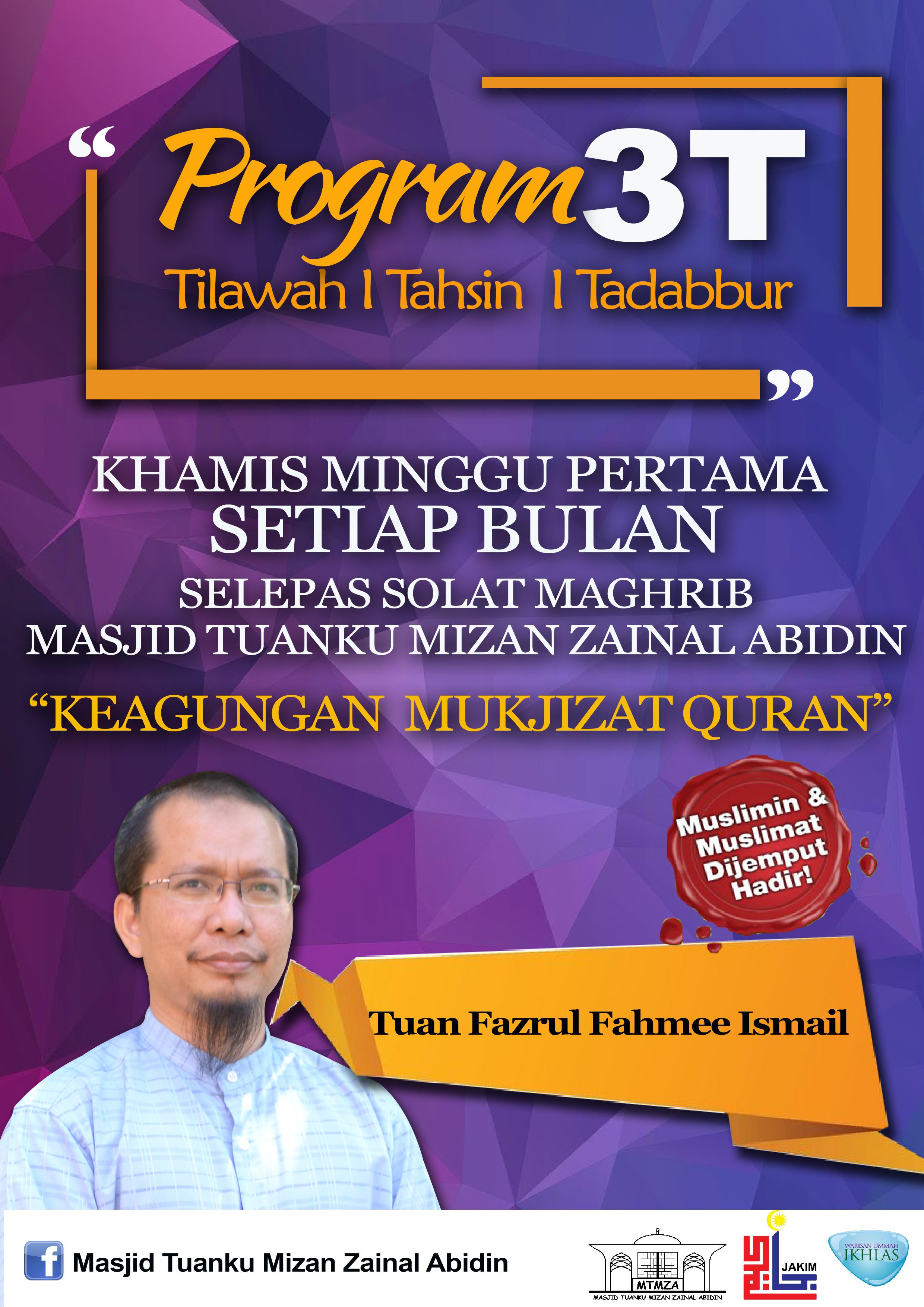 Program 3T (Tilawah,Tahsin&Tadabbur)