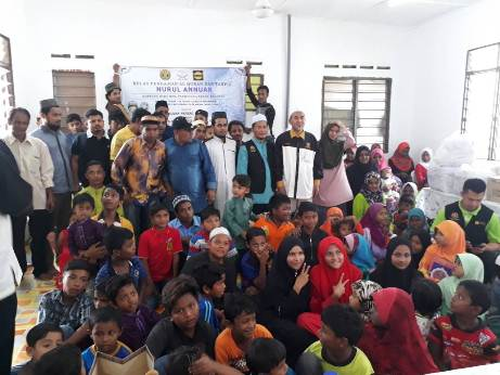 Ziarah Mahabbah Menyampaikan Sumbangan Kepada Warga Rohingya Dan Pembukaan Kelas Pengajian Al-Quran Dan Tahfiz Nurul Annuar