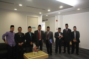 Pertemuan Imam Besar Masjid Tuanku Mizan Zainal Abidin Bersama Ss Mufti Wilayah Persekutuan