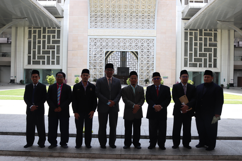 Lawatan Rasmi Bahagian Hal Ehwal Islam Acis Uitm Shah Alam
