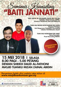 """Seminar Kaunseling """"Baiti Jannati"""""""