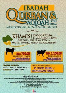 Ibadah Qurban & Aqiqah di MTMZA