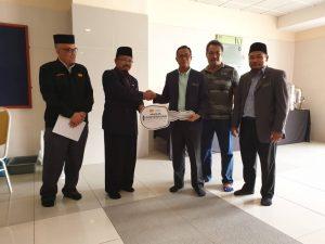 Majlis Penyerahan Bilik Utiliti & Stor Aset Di Aras L1 dan C1 – Masjid Tuanku Mizan Zainal Abidin , Putrajaya