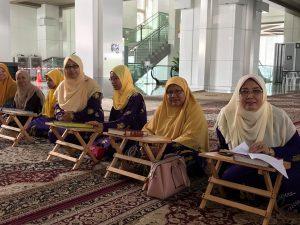 Tadarus & Khatam Al Quran Anjuran Puspanita Cawangan Kecil Jakim Dengan Kerjasama MTMZA
