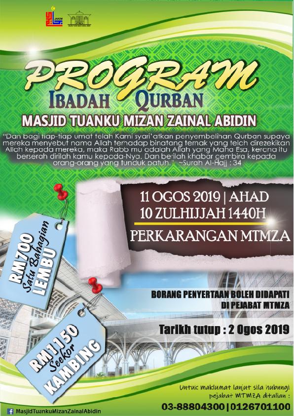 Program Ibadah Qurban MTMZA