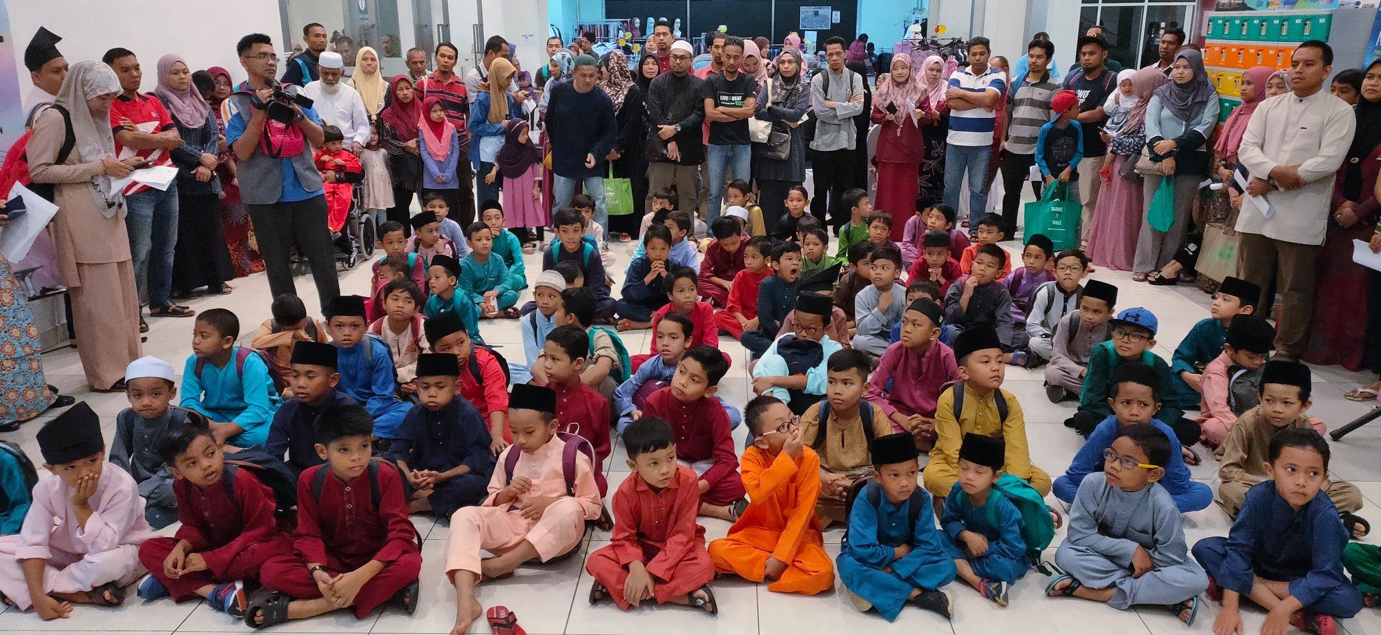 Program Khatan Perdana 2019@ Masjid Tuanku Mizan Zainal Abidin,Putrajaya.