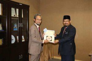 Penyerahan Projek Sistem E-Imarah 2.0 Kepada Masjid Tuanku Mizan Zainal Abidin