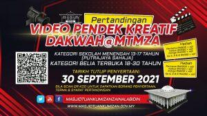Pertandingan Video Pendek Kreatif Dakwah @MTMZA